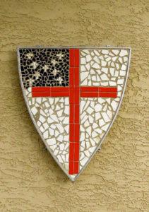 Mosaic Episcopal Shield